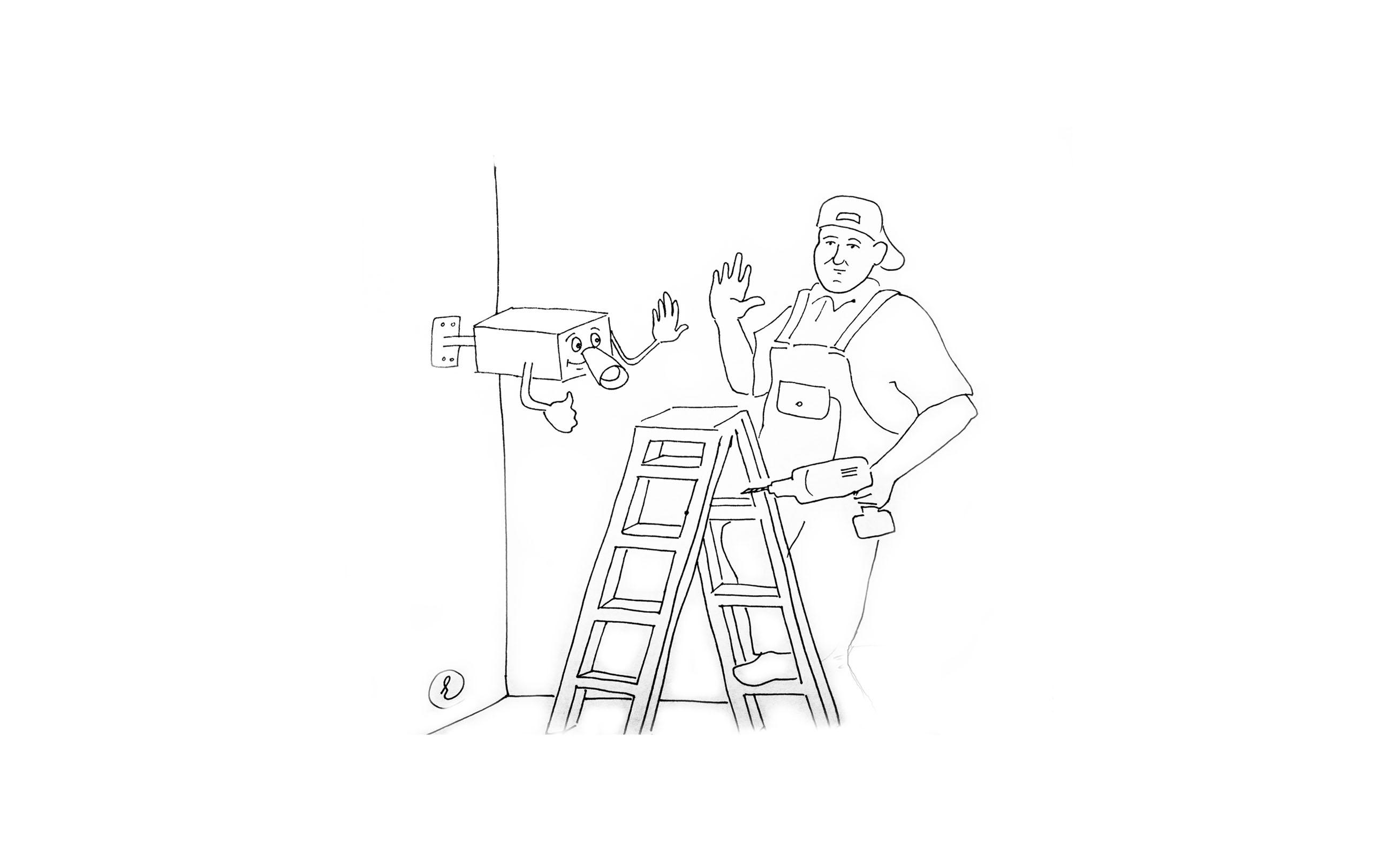 Беспроводное видеонаблюдение для квартиры скрытое купить