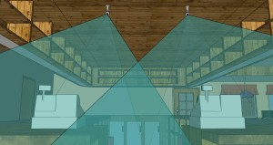 Смоделировано в плагине Axis Camera Extension для SketchUp® 3D
