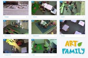 камеры видеорнаблюдения в садике