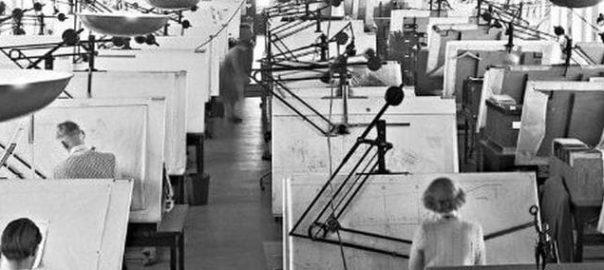 Будни проектировщиков 20-го века