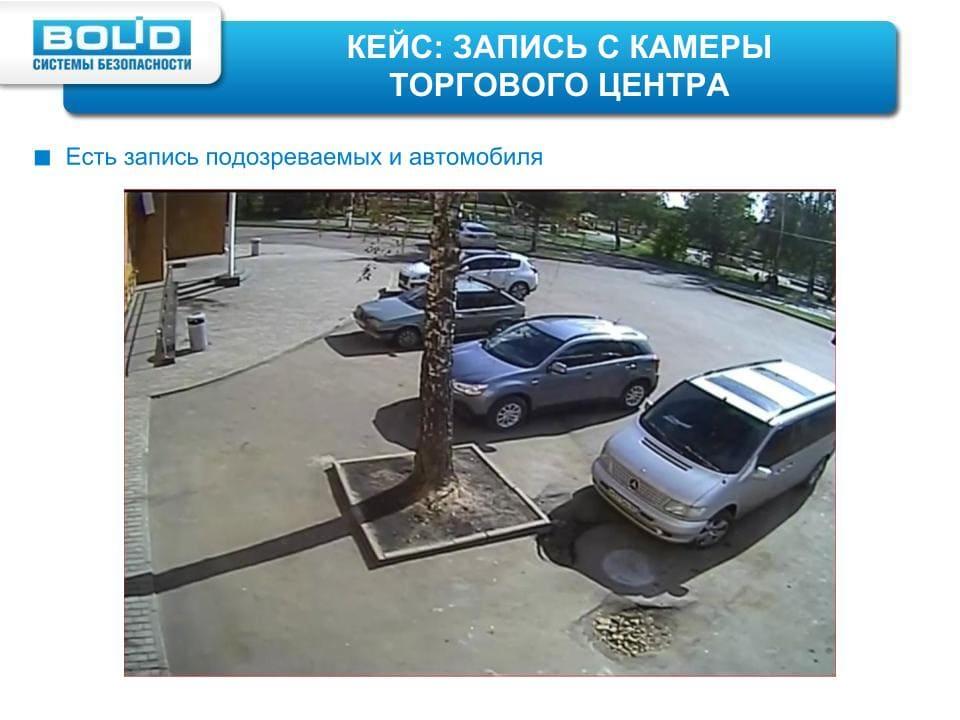 Парковка перед зданием
